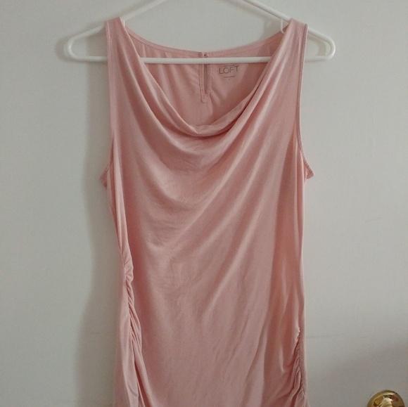 460224a3734da LOFT Tops | Ann Taylor Soft Pink Sleeveless Shirt | Poshmark